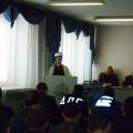 Выступление перед отправкой полицейских на Северный Кавказ