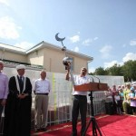 Открытие мечети в р.п. Николаевка Николаевского р-на Ульяновской области