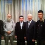 С председателем Всемирного конгресса татар - Ринатом Закировым