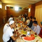 Ифтар в мечети Махалля №1