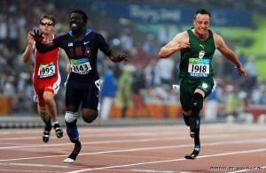 Паралимпийцы