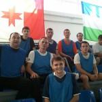 команда Махалля1 в перерыве между матчами