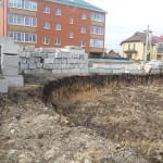 Начало работ по рытью котлована | Строительство мечети на ул. Р. Люксембург, 33