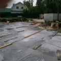 Завершены работы по заливке бетона для фундаментной плиты | Строительство мечети на ул. Р. Люксембург, 33