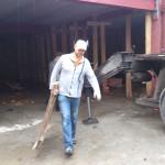 """Силами прихожан """"Махалли №1"""" и """"Махалли №2"""" г. Ульяновска проведена уборка строительного участка"""