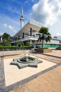 Масджид Негара (Masjid Negara) Куала-Лумпур, Малайзия