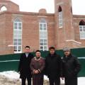 Строительный участок посетили ректор Казанского высшего мусульманского медресе