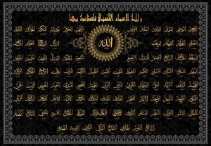 Прекраснейшие имена Аллаха