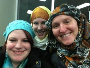 Женщины Европы приняли участие в Международном дне хиджаба