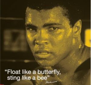 Мохаммед Али: «Порхай как бабочка, жаль как пчела!»