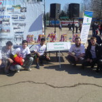 39-ая легкоатлетическая эстафета в Железнодорожном районе г. Ульяновска