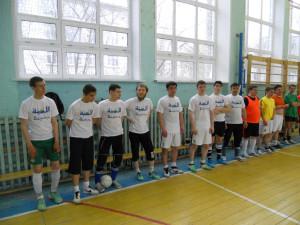 Турнир по мини-футболу среди работающей молодёжи Железнодорожного района