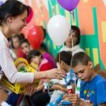 Поздравление с началом учебного года воспитанников Максимовского детского дома