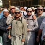 У Йеменского угла Каабы во время тавафа