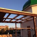 Закончены работы по оштукатуриванию внешних стен минаретов