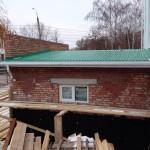 Крыша полностью закрыта