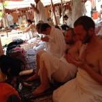 Паломники на Арафате