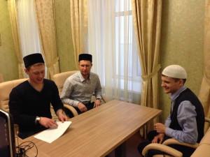 Встреча в Дискуссионном клубе мусульманской молодёжи