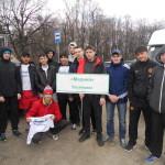 40-ая легкоатлетическая эстафета в Железнодорожном районе г. Ульяновска