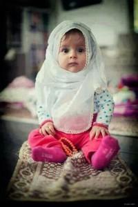 Как приучить детей к молитве