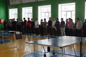 Турнир по настольному теннису среди мусульман прошёл в р.п. Цильна