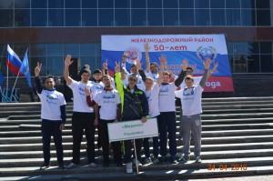 Мусульмане г. Ульяновска приняли участие в районной легкоатлетической эстафете