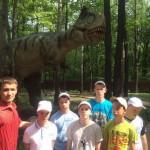 В гости к динозаврам