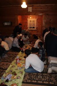 В сёлах Цильнинского района прошли ифтары
