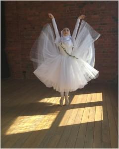 Как выглядит первая в мире балерина в хиджабе