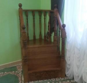 Минбар для мечети в с. Большое Нагаткино