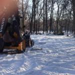 16 марта 2017г. в парке культуры и отдыха имени Александра Матросова (г. Ульяновск) начались работы по возведению игровой площадки для детей-инвалидов