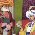 Один поэт, с целью получить вознаграждение, прославиться, получить в подарок одежду, сочинил стихотворение и отнес его султану. Султан был щедрым человеком. И приказал дать поэту тысячу золотых.