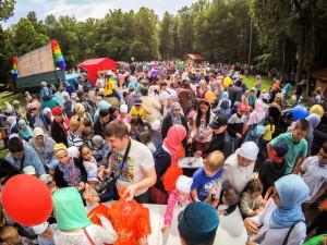 Детский праздник Ураза-байрам 2017