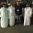 Паломники после наземной части пути (автобусом из Бахрейна) добрались до Священной Мекки