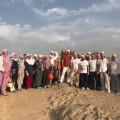 Экскурсия у места сражения при горе Ухуд