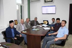 Встреча с муфтием Саратовской области
