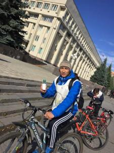 """""""Атомный велопробег"""" впервые прошёл в Ульяновске"""