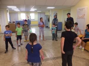 """Волонтеры Фонда """"Садака"""" посетили УОДКБ"""