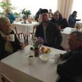"""01 октября 2019г. в Международный день пожилого человека представители Фонда """"Садака"""" организовали чаепитие для пожилых людей в Специальном доме-интернате для престарелых и инвалидов в с. Акшуат."""